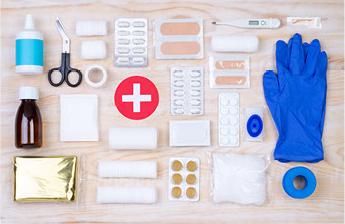 tama/ño mediano Safety First Aid Recambio de primeros auxilios para catering BS 8599